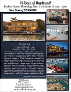 18 Linda Isle email flyer